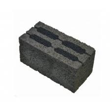 Керамзитоблок стеновой пустотелый М75
